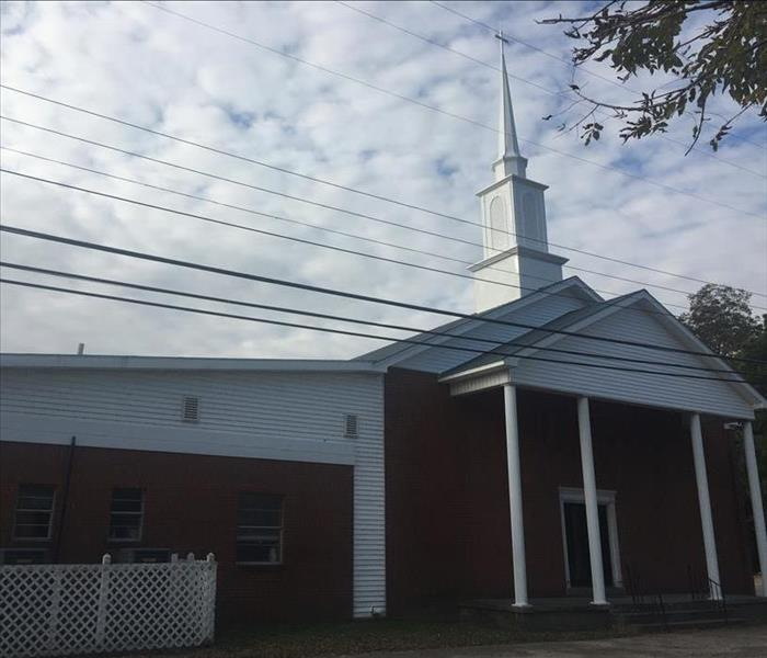 Fire Damage to Dyersburg Church After
