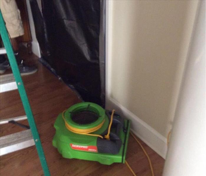 Dyersburg residence affected by a leak Before