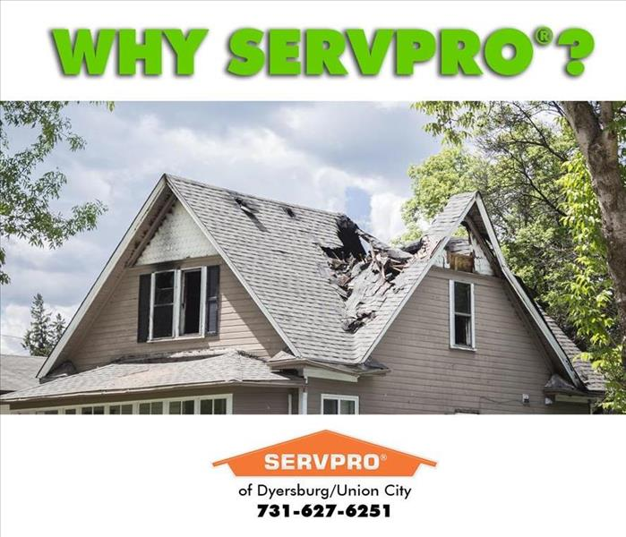Why SERVPRO SERVPRO plus You Equals Success in Dyersburg, Tennessee